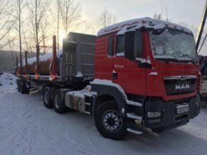 Перевозка грузов полуприцепами в труднодоступные регионы